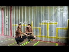 Tiny Shipping Container House Layout - Living Tiny Project - Ep. 002 - YouTube