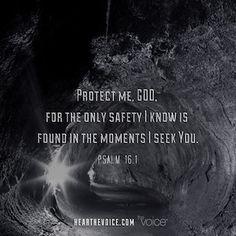Protect me God...