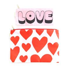 ban.do carryall duo - extreme supercute hearts / love