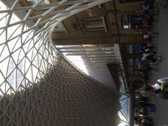 New King's Cross station. Very good.