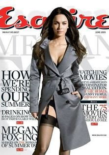Esquire - Megan Fox.  Cinephotography® marks an evolutionary approach to photography, using DSMC high-resolution motion capture as a means for pulling crisp still images. The covers and spreads below illustrate the flexible nature of this new angle on still image capture.