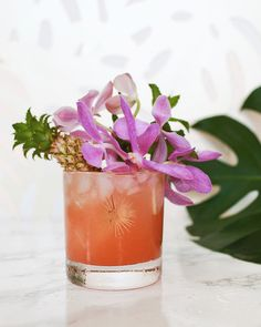The Navy Grog Tiki Cocktail Recipe / Liquorary for Oh So Beautiful Paper