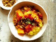 《自然好食小廚房》小米、南瓜和甜玉米炊飯