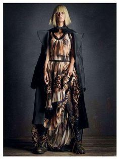 'Rebel Romance' Grunge Editorial - 'Rebel Romance' by Vogue Germany (Decembe (GALLERY)