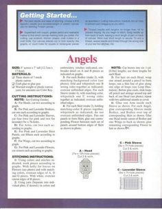 !  Pattern provided.  PC ANGELS 2