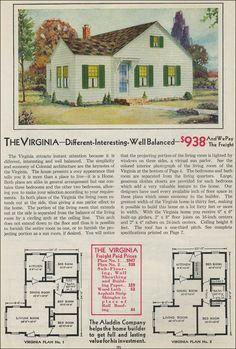 The Virginia  1931 Aladdin Homes