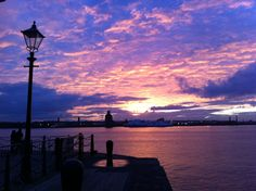 Autumn sky at the Liverpool Waterfront. Miss this city so much!