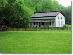 Gregg-Cable house; Cades Cove, Tennessee