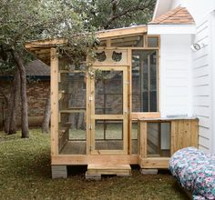 The Cat Carpenter Patio Catio