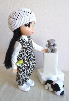 Crochet hat 16 inch doll animators doll hat cotton yarn