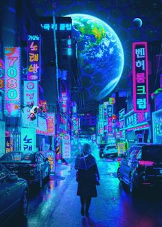 Cyberpunk poster prints by Cyberpunk 2077 Cyberpunk City, Ville Cyberpunk, Cyberpunk Kunst, Cyberpunk Aesthetic, Neon Aesthetic, Futuristic City, Cyberpunk 2077, Urban Aesthetic, Photographie Street Art