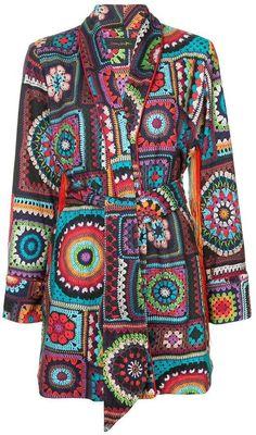 Romance Was Born Cosmic Crochet jacket