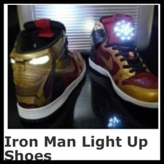 I Have to have these iron man shoes