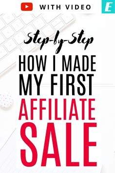 Looking to make your first affiliate sale or ramp up on affiliate sales? Hear my story. I'll reveal how I got my first affiliate sale: step-by-step. Hopefully, you'll be able to see what I did and make affiliate sales of your own. Creating A Business, Starting Your Own Business, Successful Business, Business Planning, Business Tips, Make Money Blogging, Way To Make Money, Earn Money, Renda Extra Online