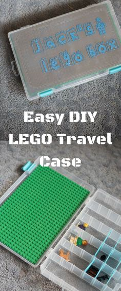 LEGO Storage / LEGO Travel Tray / LEGO Craft / DIY Travel Case / LEGO, LEGO, LEGO / LEGO Ideas