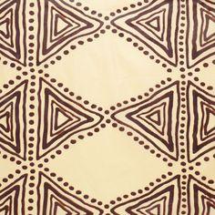 Tissu africain wax beige