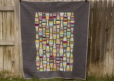 Stargate Quilt Back by from the blue chair, via Flickr
