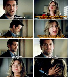 When Derek wanted to tell the board that Richard was drinking, he waited because Meredith asked him to. They were such an awesome couple.
