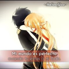 anime frases anime frases sentimientos ShuOumaGcrow amor sword art online