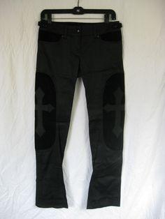 LIP SERVICE Black MEtal pants #52-66 - size L-XL