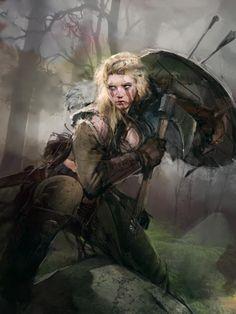 """""""Só há sombra e sofrimento para ti nas terras que jazem além da Floresta das Trevas, andarilho. Eu faço parte da matilha de Beorn e nem ao nosso povo ela respeita. Se eu fosse você, faria meia volta enquanto ainda pode controlar as próprias pernas para fazê-lo."""""""
