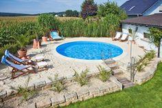 Der sonnigste Platz im Garten ist ideal für den Einbau eines Pools. Foto: djd/D&W-Pool