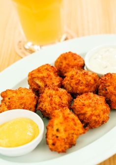 Wow Everyone With These Fried Cheese Balls...We've Already Made Them Twice This Week!
