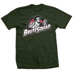 Andre The Giant T-shirts Licensed By Andre's Family - Brute Squad T-shirt Andre The Giant, Direct To Garment Printer, Cotton Tee, Shirt Style, Squad, Dan, Mens Tops, T Shirt, Stuff To Buy