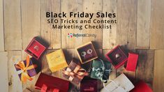 SEO Tricks for Black Friday/Cyber Monday: Your Content Marketing Checklist to Boost Sales and Traffic Computer Lessons, Cyber Monday Sales, Black Friday Shopping, Shopping Hacks, Christmas Shopping, Content Marketing, Special Gifts, Seo, Friday Memes