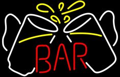 Bar Glasses Neon Sign - 24x31
