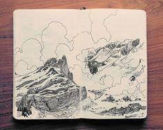 Впечатляющие рисунки ручкой