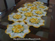 Arte em Crochê: Meus trabalhos em crochê!