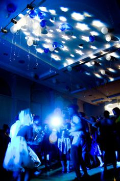 Under the Stars Theme Party - Ideas, Lights, Examples of Star Parties