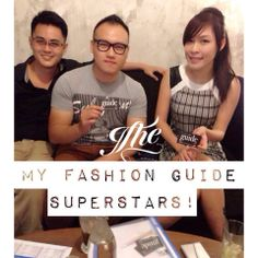 They are #MFG Superstars: Janet, Steven & Danny! Say hello with your MFG account username, they will pick someone to receive a free gift on Friday! (Malaysia residents only, to register your free MFG account, visit www.MyFashionGuide.com or download the app!)