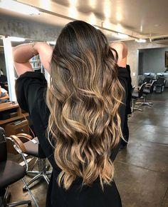 Hair color honey brows balayage caramel highlights 20 ideas for 2019 Brown Ombre Hair, Ombre Hair Color, Hair Color Balayage, Hair Highlights, Honey Balayage, Caramel Highlights, Bayalage, Cute Hairstyles For Short Hair, Girl Short Hair