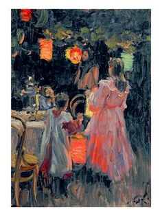 Ivan Semyonovich Kulikov Chinese Lanterns print for sale. Shop for Ivan Semyonovich Kulikov Chinese Lanterns painting and frame at discount price, ships in 24 hours. Art Prints, Framed Art, Art Painting, Fine Art, Painting, Illustration Art, Art, Canvas Art, Love Art