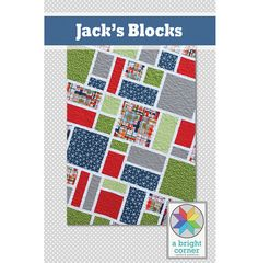 This pattern is for a no-frills quilt that is a perfect showcase for your favorite large-scale prints. (See second photo for fabric requirements.) Finished Quilt sizes: **all sizes are included in this one pattern** 42 x 55 (crib) 55 x 68 (throw) 69 x 95 (twin size) 85 x 95 (queen)   This is a beginner to intermediate level pattern. It is a full-color, six page pattern ready for downloading and printing, or using right from your computer or iPad. It includes detailed, easy-to-follow…