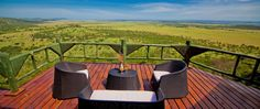 Stunning view from the rooms at Soroi Serengeti Lodge, in the Serengeti National Park.