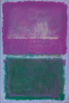 dailyrothko: Mark Rothko, Untitled (Lavender And Green), 1952
