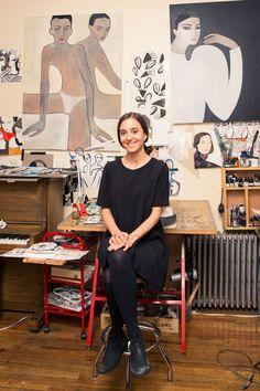 Artist Aesthetic, Art Studios, Artist At Work, Art Inspo, Modern Art, Art Drawings, Illustration Art, Deco, Marie Claire