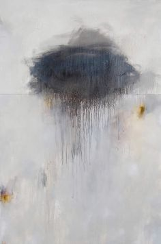 "STEVEN SEINBERG | Storm - mixed media on canvas - 60 x 40; from his exhibition ""Sleepwalk"" March 2013"