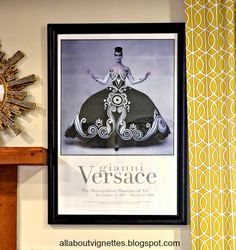 All About Vignettes: Versace, Draper, and Hermes