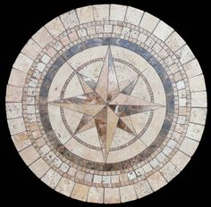 compass natural stone table top