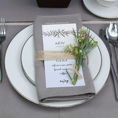 The quality of each gray wedding napkin is designed for sophisticated brides and wedding designers. We're also introducing them for hotel, catering and wedding banquet business owners who are looking for professional quality napkins at affordable, wholesale prices. These napkins are made from commercial grade Milliken-like MJS fabrics. Each napkin features the matte beauty of linen napkins and the softness of cotton.