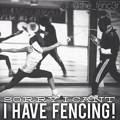 How many of you guys had this excuse whenever an event happened ??? ••• ⚔⚔⚔⚔★©the_fenc3r★⚔⚔⚔⚔ #fencing #escrime #esgrima #scherma #sport #sports #athlete #athletes #quote #quotes #motivation #motivational #inspiration #inspirational #motivationalquotes #inspirationalquotes #fencingquotes #fencingmotivation #love #workout #practice #training #epee #foil #sabre