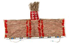 Sioux Beaded and Quilled Cradle Hood (5/12/2016 - American Indian Art: Timed Online Auction - ends 5/23)