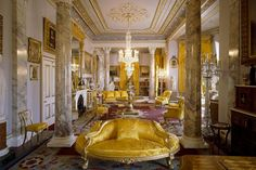 Osborne House: a frothy, creamy, classical confection English Heritage. drawing room Osborne House. 2 of 2. The opulent royal drawing room English Heritage