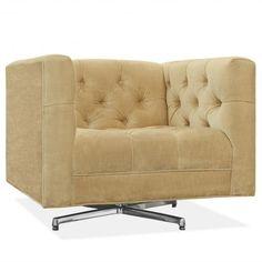 Jonathan Adler: Baxter Swivel Chair used in  Design Journey: Cloth & Stone photo shoot