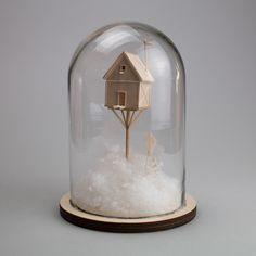 Vera van Wolferen's Mini Wooden Sculptures