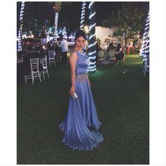 • Jessica Chang {impecável} com vestido de musseline de seda pura. O tom de azul é o mais lindo que já vimos {Flawless} • ✨  #atelierrenatadias #vestidorenatadiass #somethingblue #bluelovers #handmade #seda